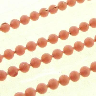 Ball Chain 1.5mm - Peach - 1m