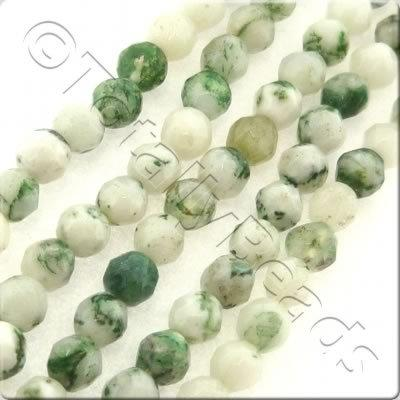 Tree Agate 3mm Facet Round