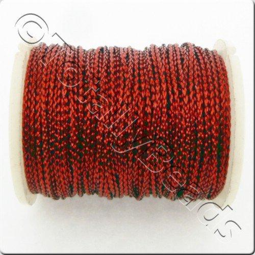 Metallic Thread Red - 0.7mm - 10m Spool