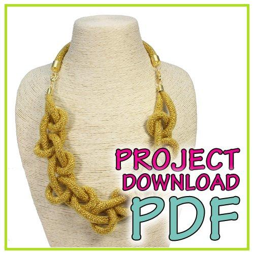 Looped Mesh Necklace - Download Instructions