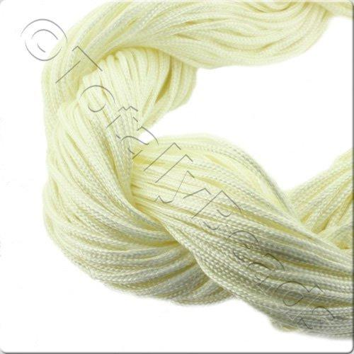 Rattail Cord 1mm Cream - 10m