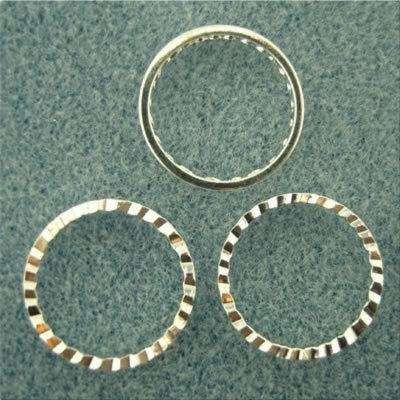 Spacer Ring 16mm - Silver Plated