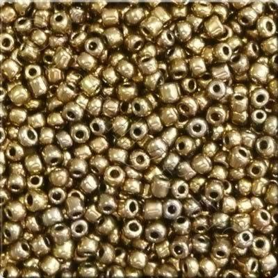 Seed Beads Antique Gold - Size 6