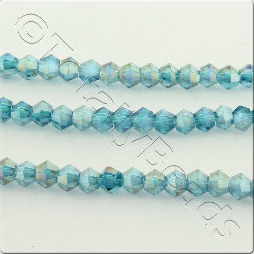 Crystal Bicone 2.5mm - Turquoise AB