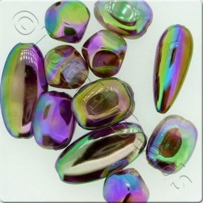 Acrylic Rainbow Luster Mix - Purple
