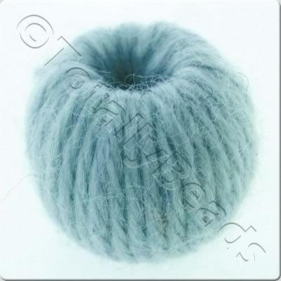 Wool Bead 22mm - Aqua
