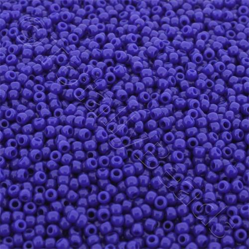 Toho Size 11 Seed Beads 10g - Opaque Navy Blue