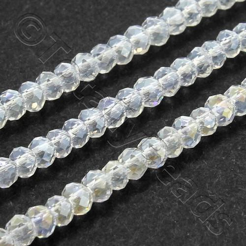 Crystal Rondelle 2.5x3.5mm - Clear AB 150pc