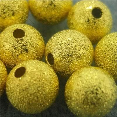 Stardust Beads - Gold - 10mm