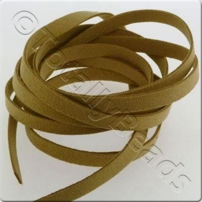 Suede Cord - 8mm - Natural