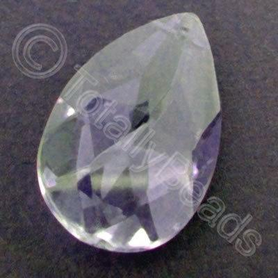 Glass Pendant Drop Lilac - 38mm