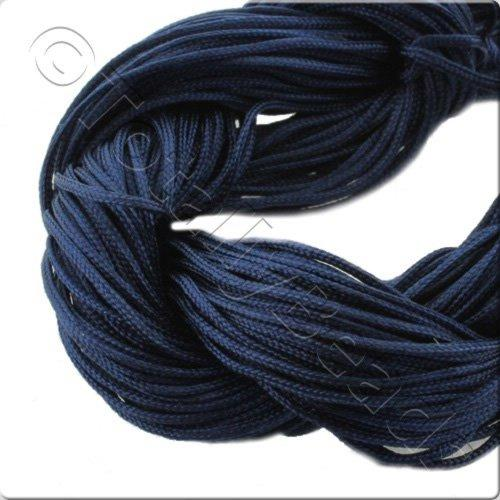 Rattail Cord 1mm Midnight Blue - 10m