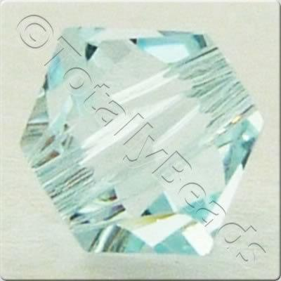 Swarovski 4mm Xilion Bicone - Light Azore 24pk