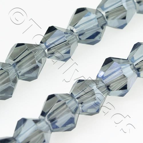 Crystal Bicone 6mm - Blue Mist