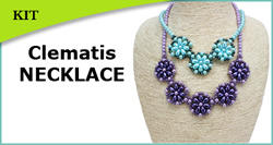 Clematis Necklace