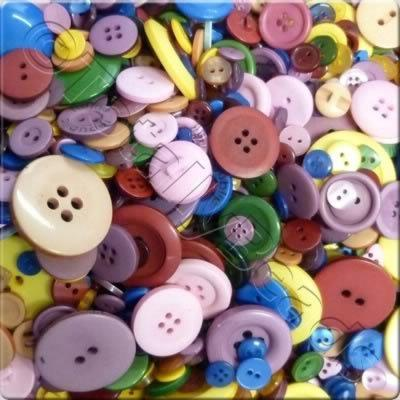 Acrylic Buttons - Mix3
