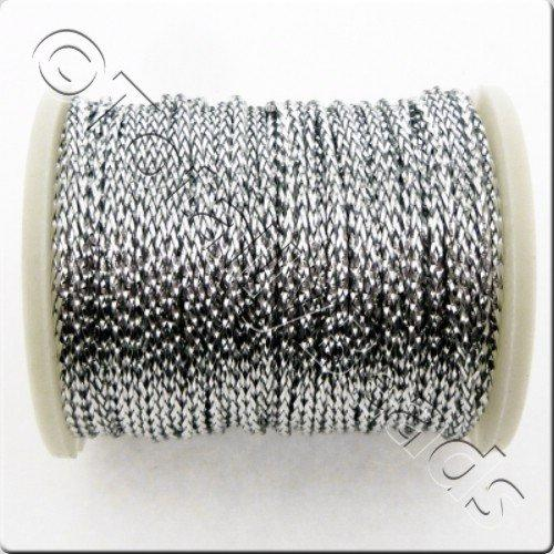 Metallic Thread Silver - 0.7mm - 10m Spool