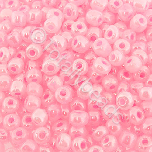 Seed Beads Pearl Shine  Pink - Size 6