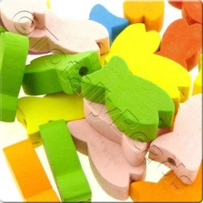 Childrens Wooden Beads - Fish