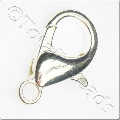 Lobster Clasp 21mm - Silver Plated