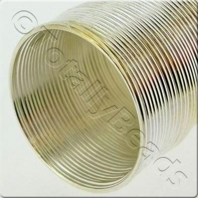 Ring Memory Wire 40 Loops - Silver Colour