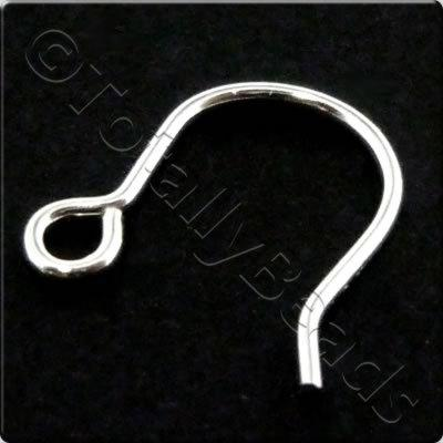 Sterling Silver - Small Earwire 12mm
