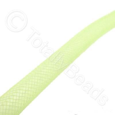 Nylon Mesh Tubing - 4mm Neon Yellow - 4m pack