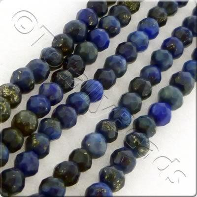 Lapis 3mm Facet Round