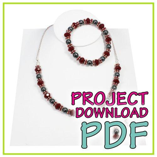 Stella Necklace - Download Instructions