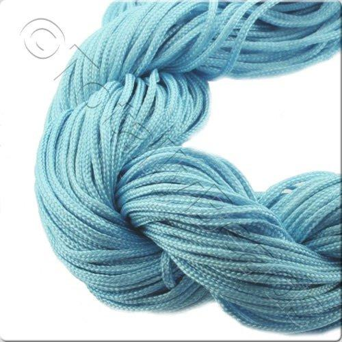 Rattail Cord 1mm Turquoise - 10m