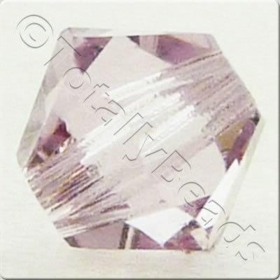Swarovski 4mm Xilion Bicone - Light Amethyst 24pk