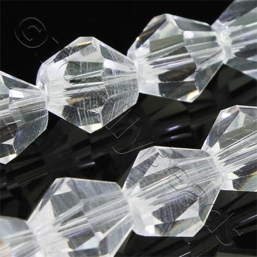 Crystal Bicone 8mm - Crystal