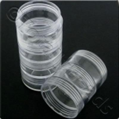 Storage Tube - Small Screw Tops - 5