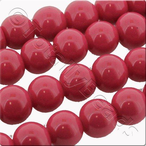 Glass Bead Round 4mm - Rose