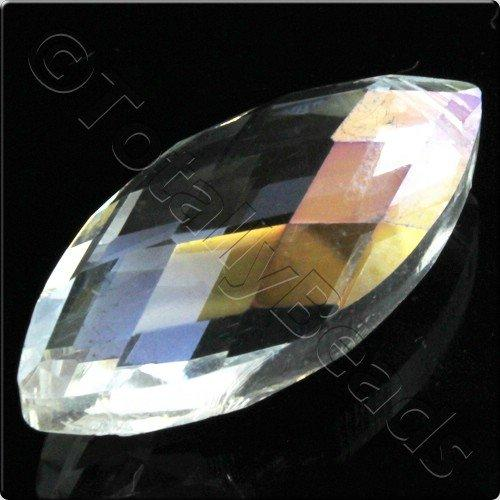 Crystal Eye Bead 32mm - Crystal AB