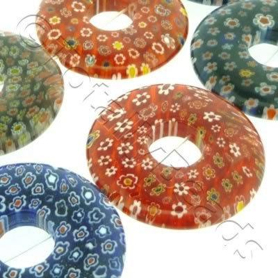Millefiori - Coin 40mm - Mixed
