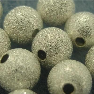 Stardust Beads - Silver - 4mm
