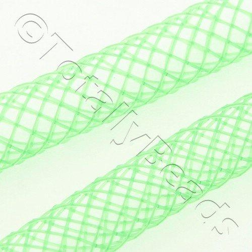 Nylon Mesh Tubing 4mm Fresh Green- 4m pack