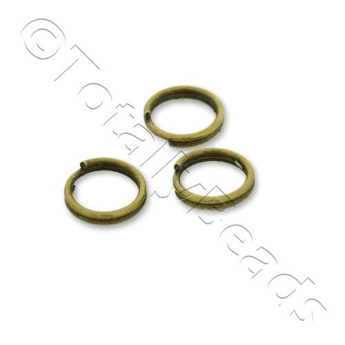 Split Rings 6mm - Bronze