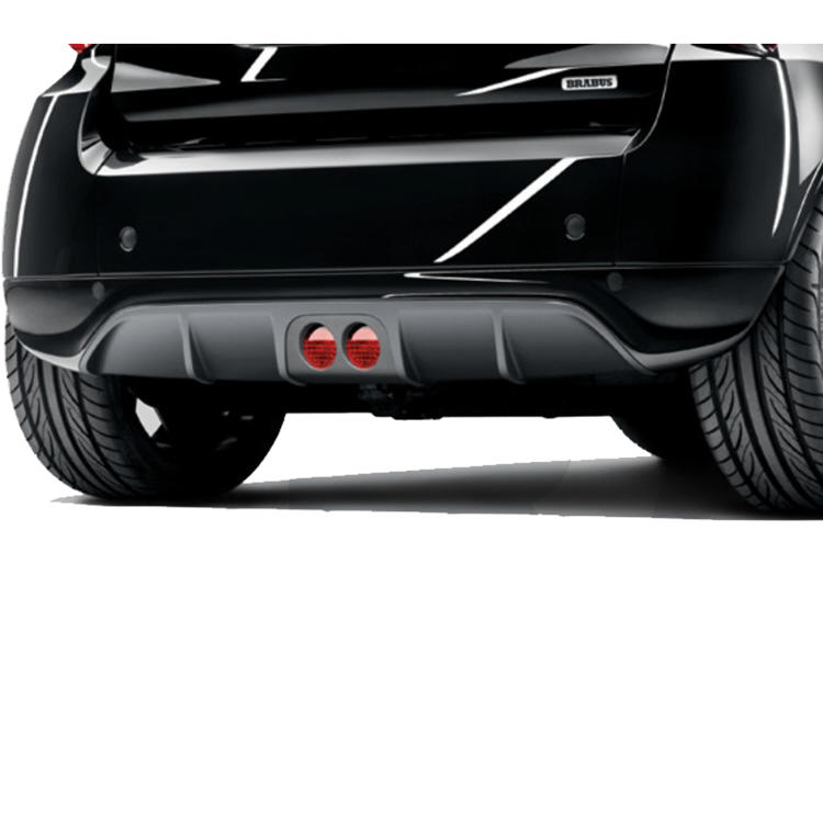 brabus rear diffuser 451 smart fortwo. Black Bedroom Furniture Sets. Home Design Ideas