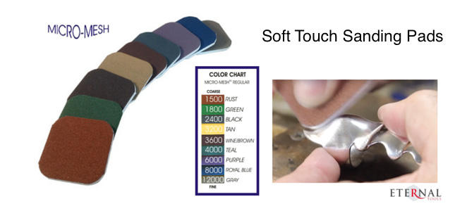 Micro Mesh Soft Touch Handing Pads