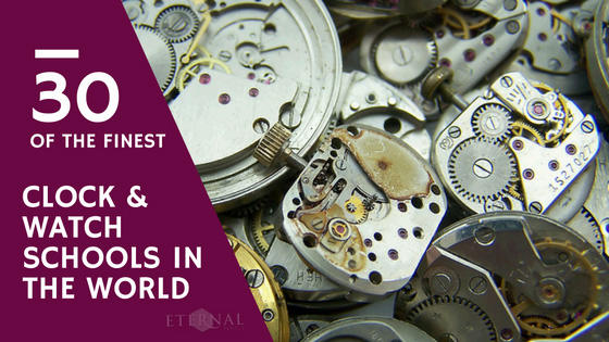 30 of the Finest Clock and Watch Schools Around the World
