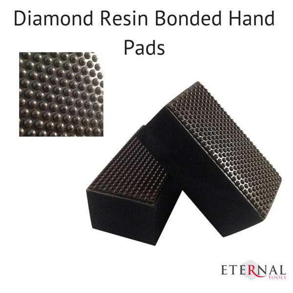 Resin Boned Stone Polishing Diamond Hand Pad-800Grit