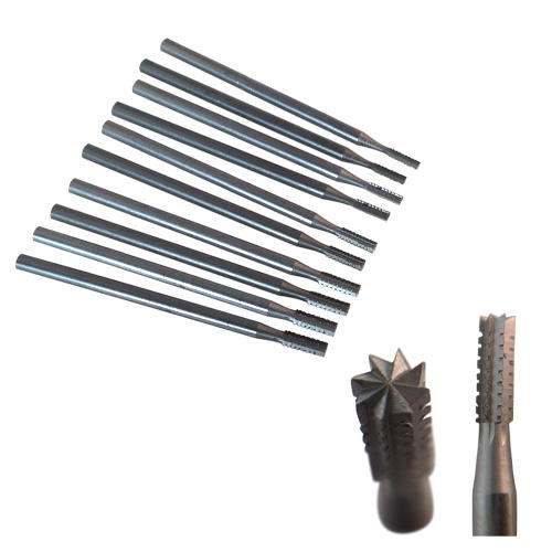 Micro carbide cylinder burrs 0.7mm - 2.3mm
