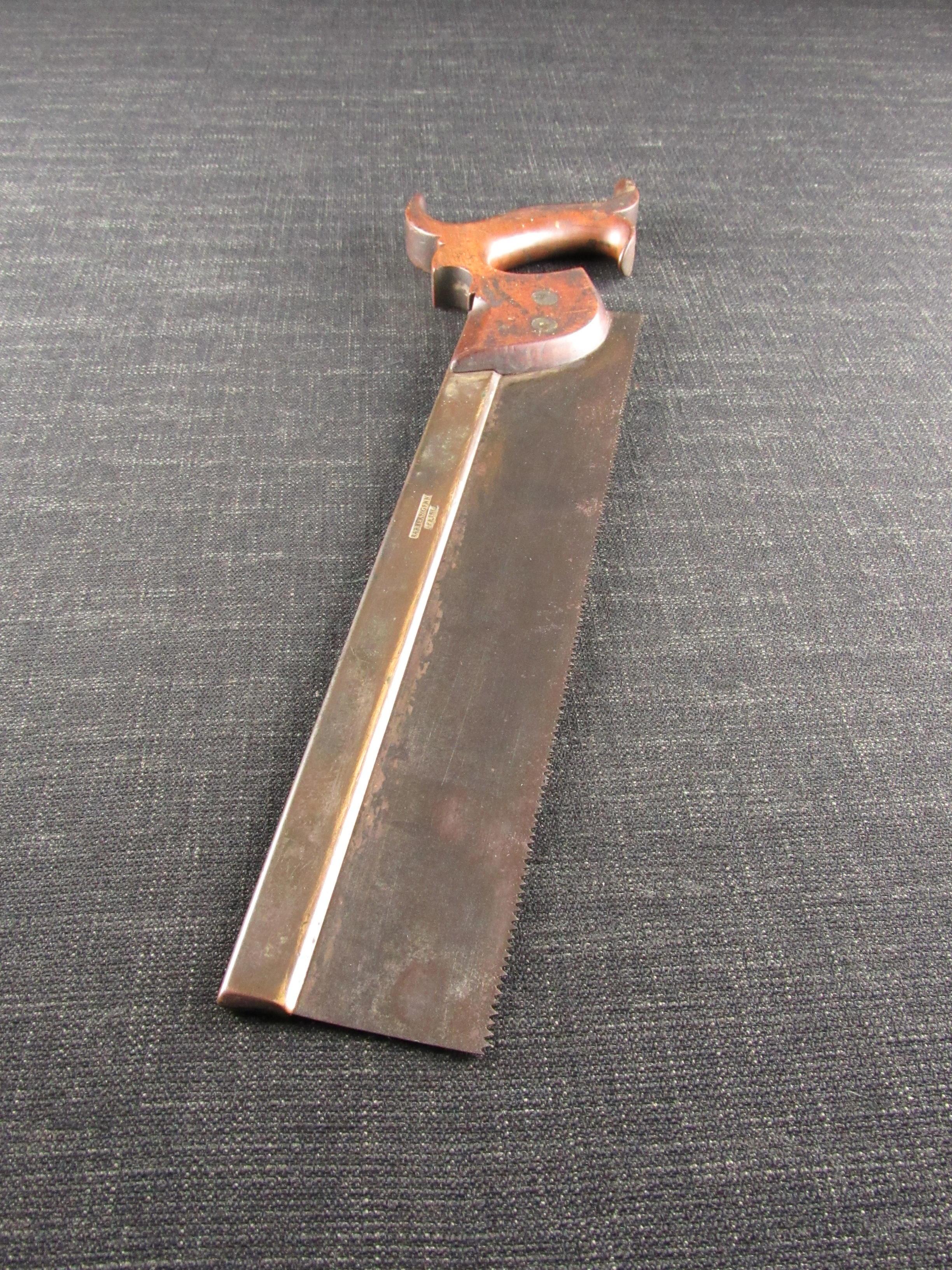 Barber & Genn 18th Century Back Saw