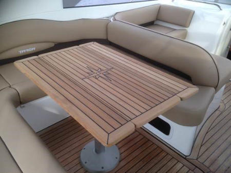 Nautic Star Wing Marine Teak Table - Various Sizes