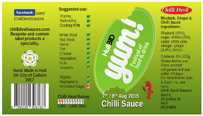 YUM! festival chilli sauce