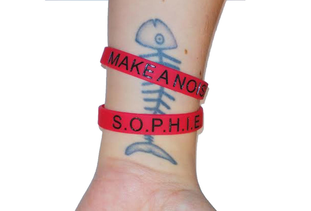 Sophie Lancaster Foundation | Red Make A Noise Wristband