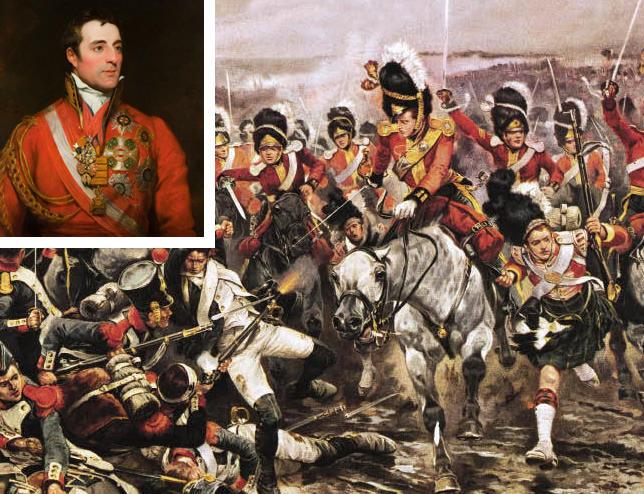 Duke of Wellington, Battle of Waterloo, 1815