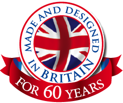 Made and Designed in Britain for 60 years